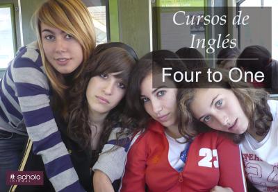 ¿Qué es un Curso de Inglés 'Four to One'?