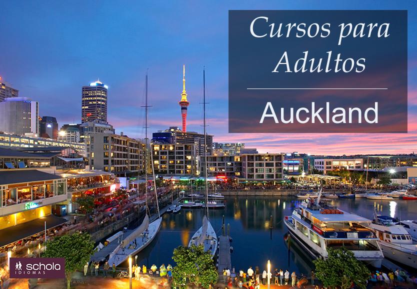 Cursos para Adultos – Auckland