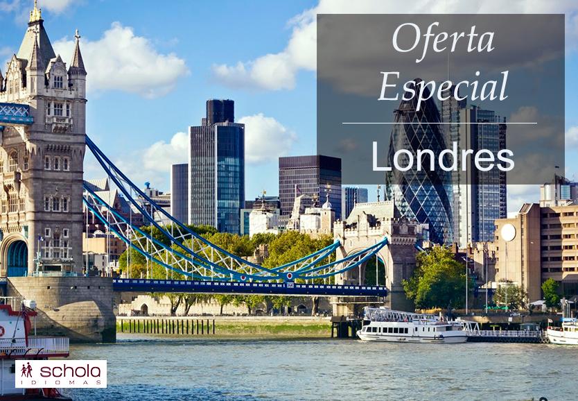 ¡Tenemos una oferta muy especial para nuestros programas en Londres!