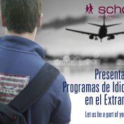 Presentación de programas de idiomas en el extranjero 2018 en Valencia