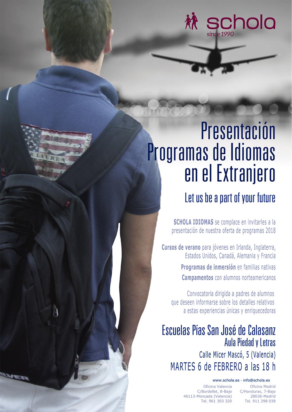 Programas de idiomas - Schola