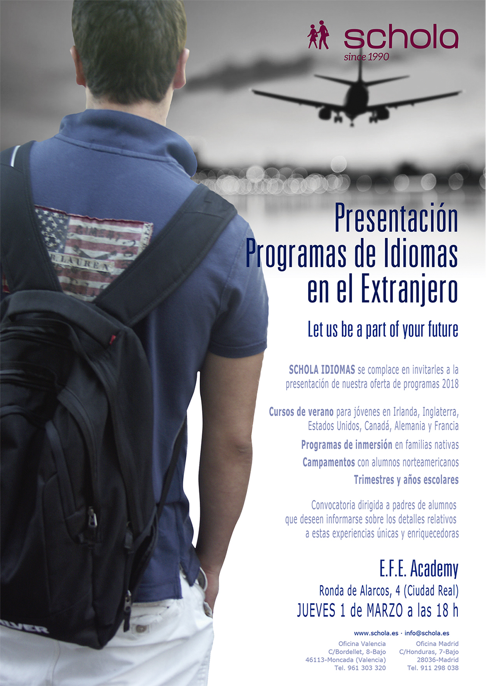 Programas de idiomas en el extranjero - Ciudad Real - Schola