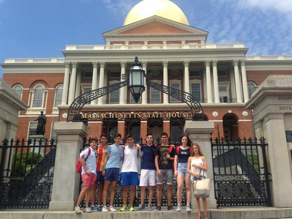 Curso de inglés en Boston para jóvenes: ¡una ciudad que te hará vibrar!