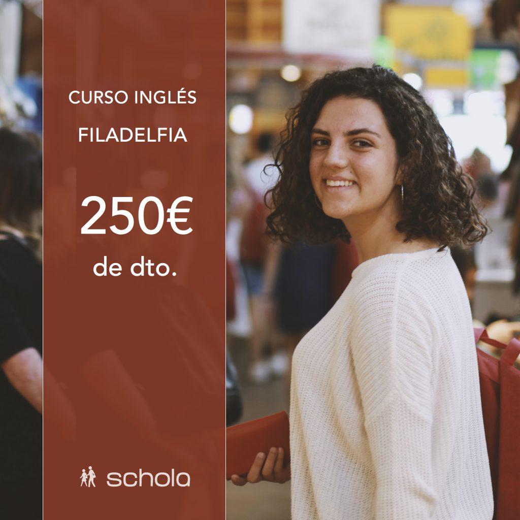 Curso de inglés en EE. UU. con 250€ de dto